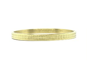 Pulseira Kodo Acessórios Bracelete Africano Dourado