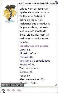 +8 Couraça de Boitatá do Alto Risco