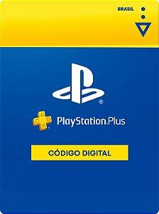 Cartão Playstation Plus - BR