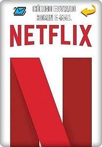 Cartão Netflix R$35