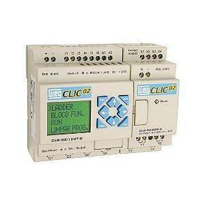 Controlador Lógico Programável WEG CLIC02