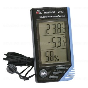 Termo-Higrômetro MINIPA MT-241