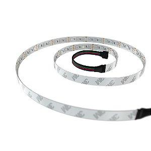 TIRA DE LED RISE MODE PARA GABINETE 1,25CM RGB MOLEX RM-TL-04-RGBM
