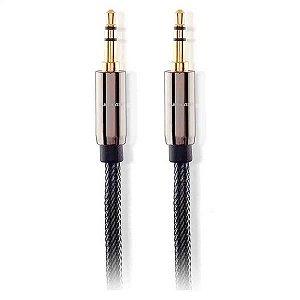 Cabo de Audio Multilaser P2 X P2 1,8M WI285