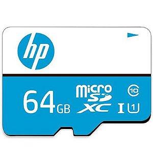 Cartão de Memória Micro SD HP MX 310 UHS-I 64GB c/ Adaptador SD