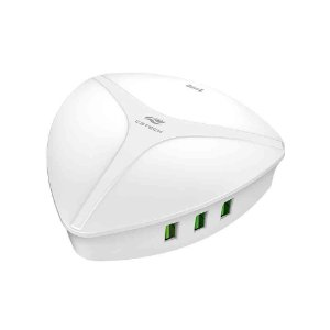 Carregador Universal C3Tech AC/USB, 6 USB, Quick Charge UC-Q630WH Branco