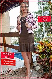 Vestido Simone - Sarja - 3183