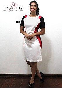 Vestido Camaleoa - Sarja Liso - 3263