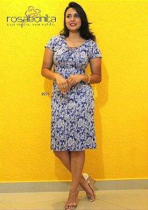 Vestido Mônica - Bengalini Estampado - 3271