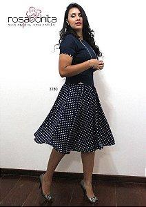 Vestido Vivian - Coton Satin + Viscose - 3280