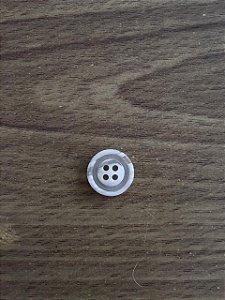 Botão Branco 4 Furos - 3