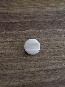 Botão Branco Pezinho - 2