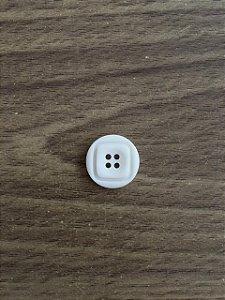 Botão Branco 4 Furos - 6