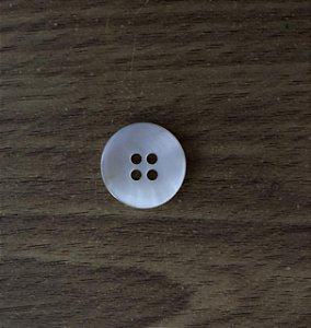 Botão Branco 4 Furos - 7