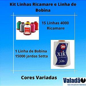 KIT LINHAS RICAMARE E LINHA DE BOBINA