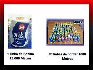 Kit 80 Linhas + Linha de Bobina