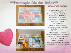 KIT Costura Criativa
