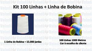 Kit 100 Linhas e Linha de Bobina