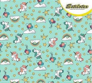Tricoline Unicornio Baby Estilotex
