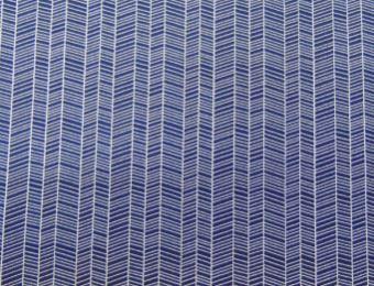 Tricoline Riscado Azul Marinho