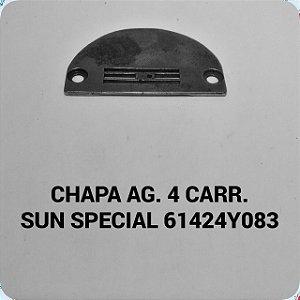 Chapa de Agulha 4 carreiras Sun Special 61424Y083