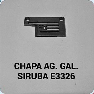 Chapa de Agulha Galoneira Siruba E3326
