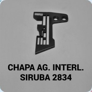 Chapa de Agulha Interloque Siruba 2834