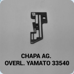Chapa de Agulha Overloque Yamato 33540