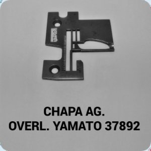 Chapa de Agulha Overloque Yamato 37892