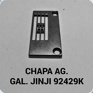 Chapa de Agulha Galoneira Jinji 92429K