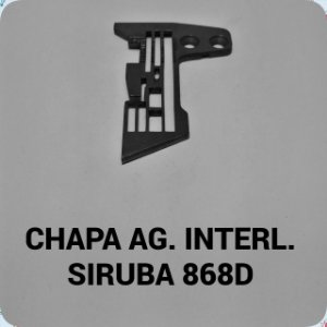 Chapa de Agulha Interloque Siruba 868D