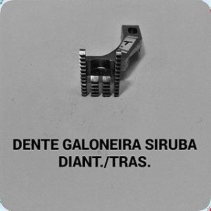 Dente Galoneira Siruba Diant/Tras