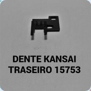 Dente Kansai Traseiro
