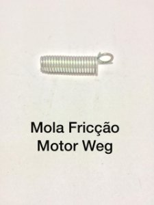 Mola Fricção Motor Weg