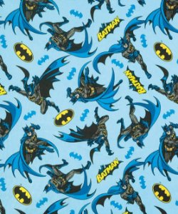 TECIDO PARA PATCHWORK AM-2594 ESTAMPADO LICENCIADO II - BATMAN 09