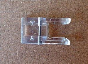 Calcador Plástico Transparente para Ponto Decorativo