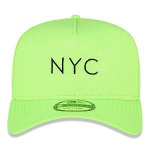 NEW ERA BONE 940 AF SN SIMPLE FLUOR NYC GREEN NEI20BON110