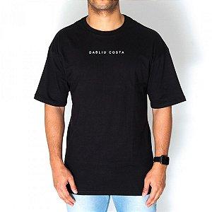 Camiseta Dabliu Costa Black Over Dab x Titto