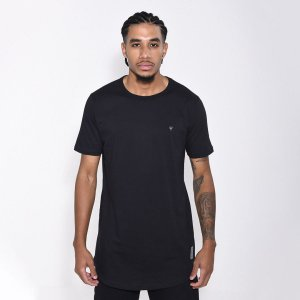 Camiseta Dabliu Basic Black W Silver