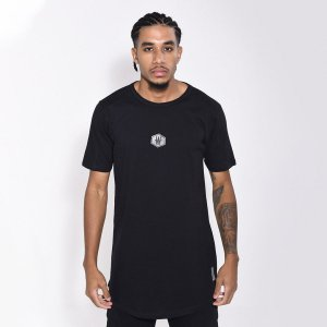 Camiseta Dabliu Basic Hexagono Black