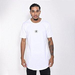 Camiseta Dabliu Basic Hexagono White