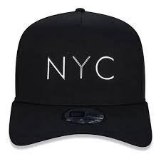 Boné New Era Original New York City CROMADO Aba Curva