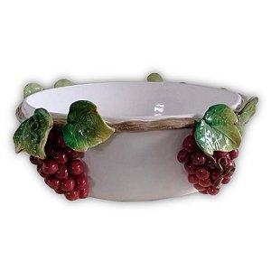 369 – Bacia de Cerâmica com Uvas