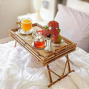 Bandeja café da manhã tripla 56,5X34,5 cm