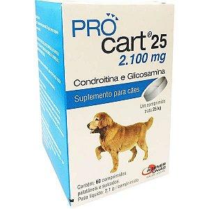 Procart 25 Kg 2100 mg 60 Comprimidos