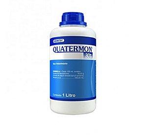 Quatermon (Amônia Quaternária) 30% 1 Litro - Validade:30/12/21