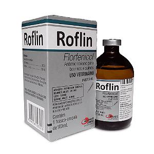 Roflin (Florfenicol) 100 ml - Validade:31/12/2021