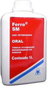 Ferro S.M Oral Tônico Vitamínico 1 Litro - Validade:30/10/2021