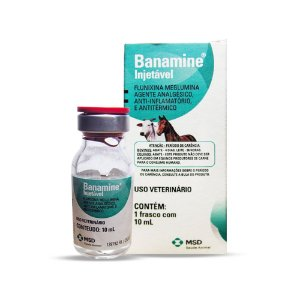 Banamine Injetável 10 ml