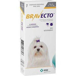 Bravecto 112,5 mg até 4 Kg